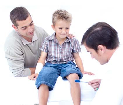 Đau khớp do tăng trưởng ở trẻem